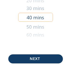 Choose duration